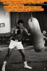 Muhammad Ali (Punchbag) by Maxi