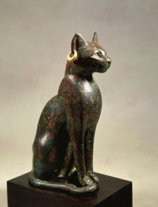 Cat goddess Bastet by Anonymous