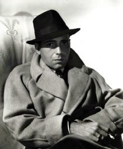Humphrey Bogart (Raincoat) by George Hurrell