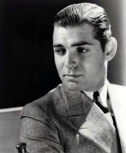 Clark Gable by Clarence Sinclair Bull
