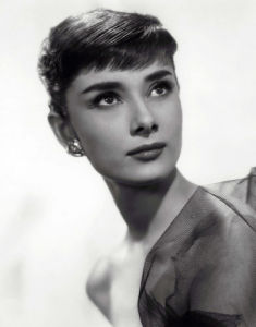 Audrey Hepburn (portrait) by Bud Fraker