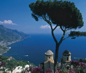 Villa Rufolo in the town of Ravello on the Amalfi Coast, Italy by Danita Delimont