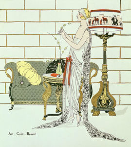 Reception dress from Art Gout Beauté magazine September 1922 by Anonymous