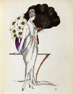 Evening dress La fleur d'or by Anonymous