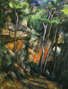 Dans le parc de Chateau-Noir (in the Park) c.1895 by Paul Cezanne
