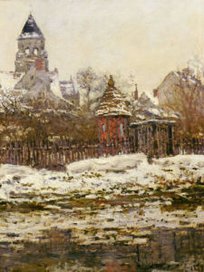 Church at Vetheuil, France, 1878 by Claude Monet