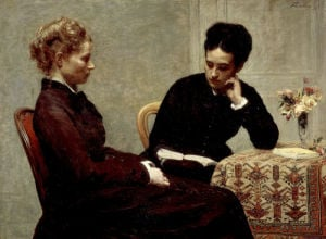 La lecture (reading), 1877 by Ignace-Henri-Théodore Fantin-Latour