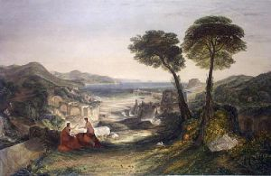 Apollo And The Sybil (Restrike Etching) by Joseph Mallord William Turner
