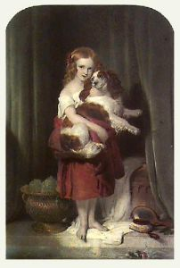 Beauty's Bath (Restrike Etching) by Sir Edwin Henry Landseer