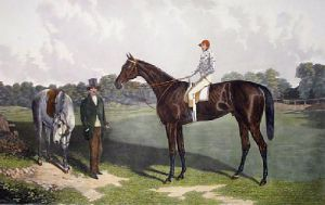 Voltigeur (Restrike Etching) by William Henry Davis