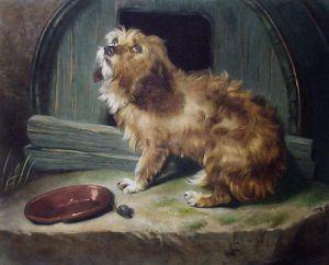 There's No Place Like Home (Restrike Etching) by Sir Edwin Henry Landseer
