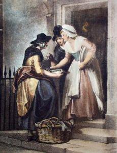 Mackrel (Restrike Etching) by Francis Wheatley