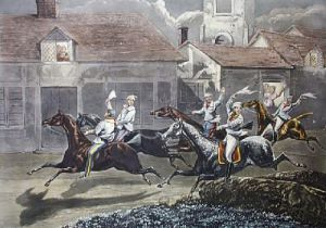 Night Riders - Plate 4 (Restrike Etching) by Henry Alken