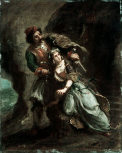 The Bride of Abydos by Ferdinand Victor Eugene Delacroix