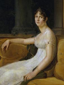 Empress Josephine (Detail) by Baron Francois Pascal Simon Gerard
