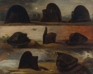 Napoleon's hats by Karl Steuben