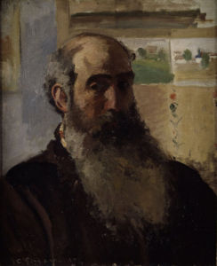 Self-portrait by Camille Pissarro