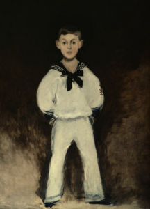 Portrait of Henry Bernstein as a boy by Edouard Manet
