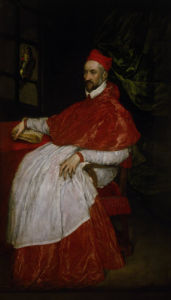 Charles de Guise, Cardinal of Lorraine by El Greco