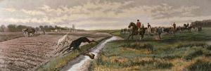Sharp Turn (Restrike Etching) by Edwin Douglas