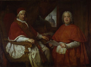 Pope Benedict XIV by Pierre Subleyras