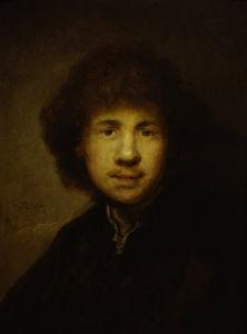 Self-portrait, 1630 by Rembrandt