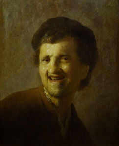 Self-portrait, c.1630 by Rembrandt