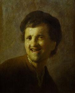 Self-portrait, c.1630 by Rembrandt
