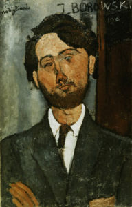 Portrait of Leopold Zborowski by Amedeo Modigliani