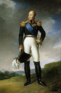 Alexander I by Baron Francois Pascal Simon Gerard