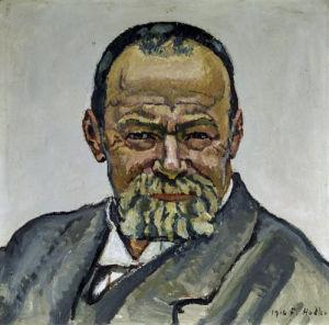 Self-portrait (II) by Ferdinand Hodler