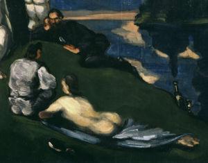 Pastoral by Paul Cezanne