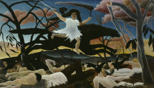 War by Henri Rousseau