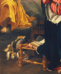 Annunciation to Mary (Detail) by Alessandro Allori