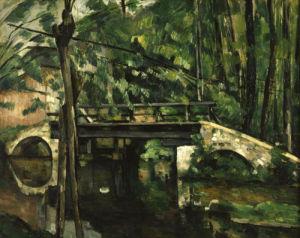 Bridge in Maincy by Paul Cezanne