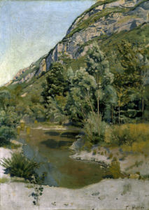 At the foot of Petit Salve by Ferdinand Hodler