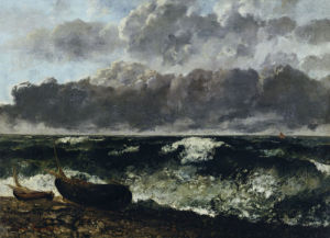 Stormy Sea or The Wave by Gustave Courbet