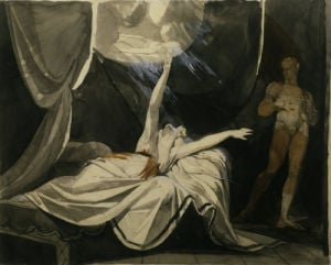 Kriemhild dreams of the dead Siegfried by Henry Fuseli