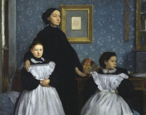 The Bellelli family by Edgar Degas