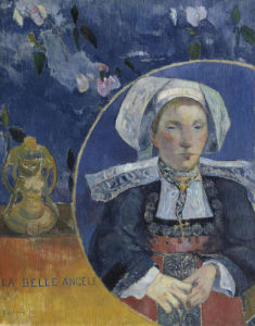 La Belle Angèle by Paul Gauguin