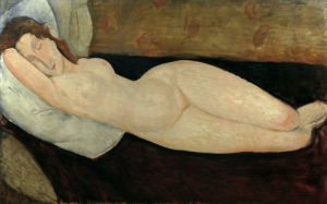 Reclining Nude, 1919 by Amedeo Modigliani