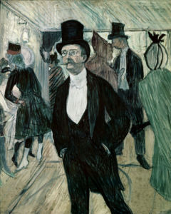 Portrait of Henri Fourcade by Henri de Toulouse-Lautrec
