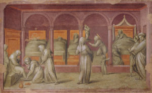Hospital Women's Ward by Jacopo Pontormo