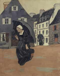 The Rainshower by Jean-Jacques Durameau