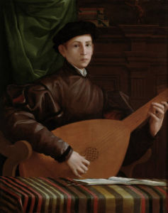 Lute Player by Anonymous