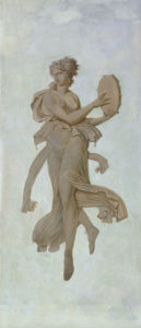 Dancer with a tambourine by Charles Louius Percier