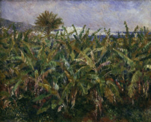 Banana plantation by Pierre Auguste Renoir