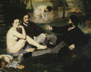 Dejeuner sur l'Herbe, 1863 (Detail) by Edouard Manet