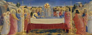 The Burial of the Virgin by Attributed to Fra Angelico