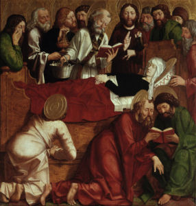 The Death of Mary by Michael Pacher